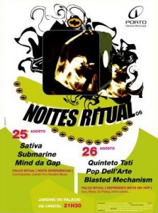 cartaz Noites Ritual 2006