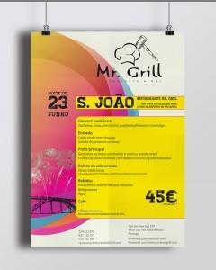 Poster Festa São João