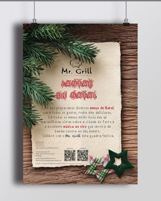 Poster Jantar de Natal