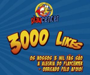 1407 Playcenter | 3000likes post