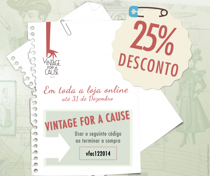 1411 Vintage For A Cause | desconto post