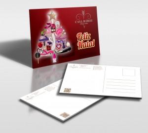 Casa de Eros | Postal de Natal