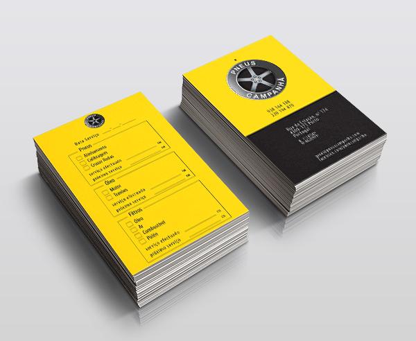 Pneus Campanhã cartões de registo da mudança de óleo