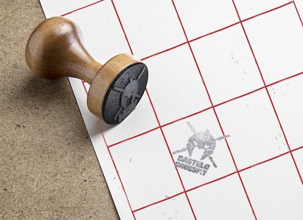 Cartão de marcação de sessões