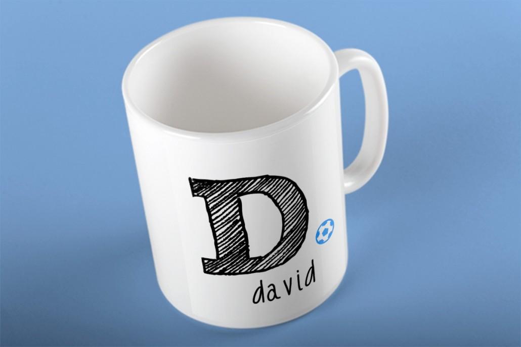 caneca David   mementōs