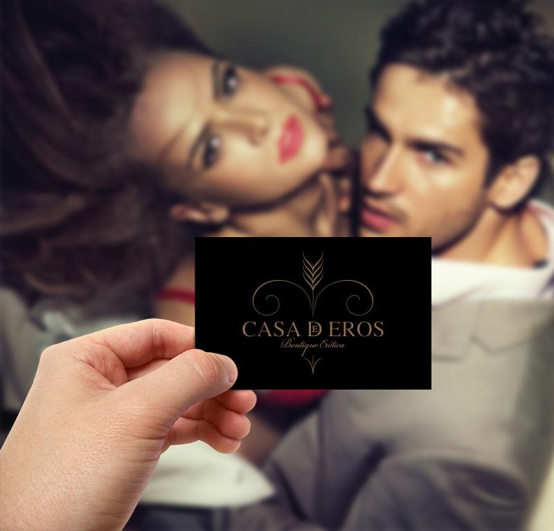 Casa de Eros | cartão de visita