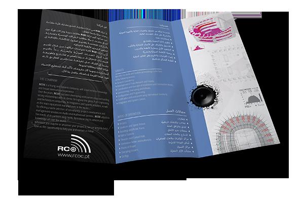 Flyer em Árabe|Inglês