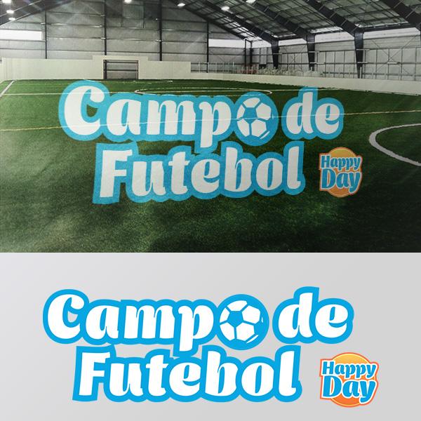 Identificação Visual do Campo de Futebol