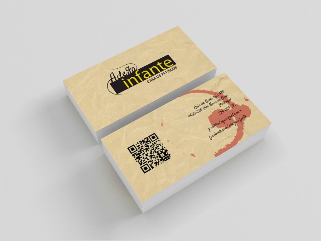 Adega Infante - Cartões de Visita   mementōs