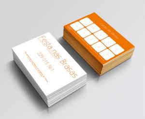 Festa na Brasa - Cartões de Cliente | mementōs